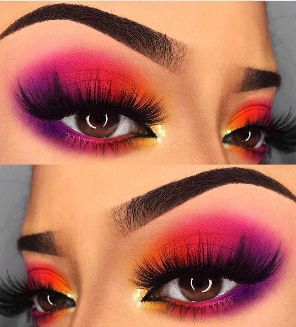 28 Colorful Eye Makeup ideas For Summer Season , Page 28 of