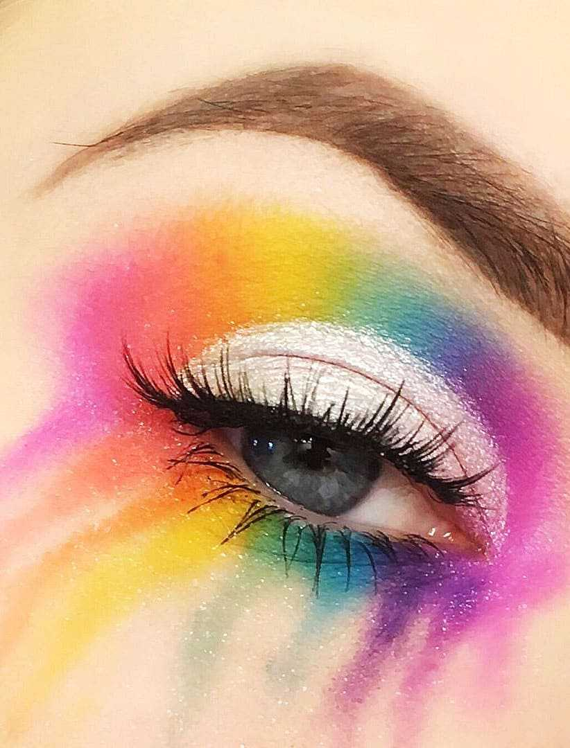 Colorful Eye Makeup Ideas For Blue Eyes