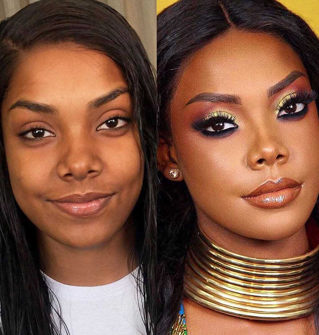 50 Incredible Changes In Women Before And After Makeup Page 2 Of 19 Womens Ideas