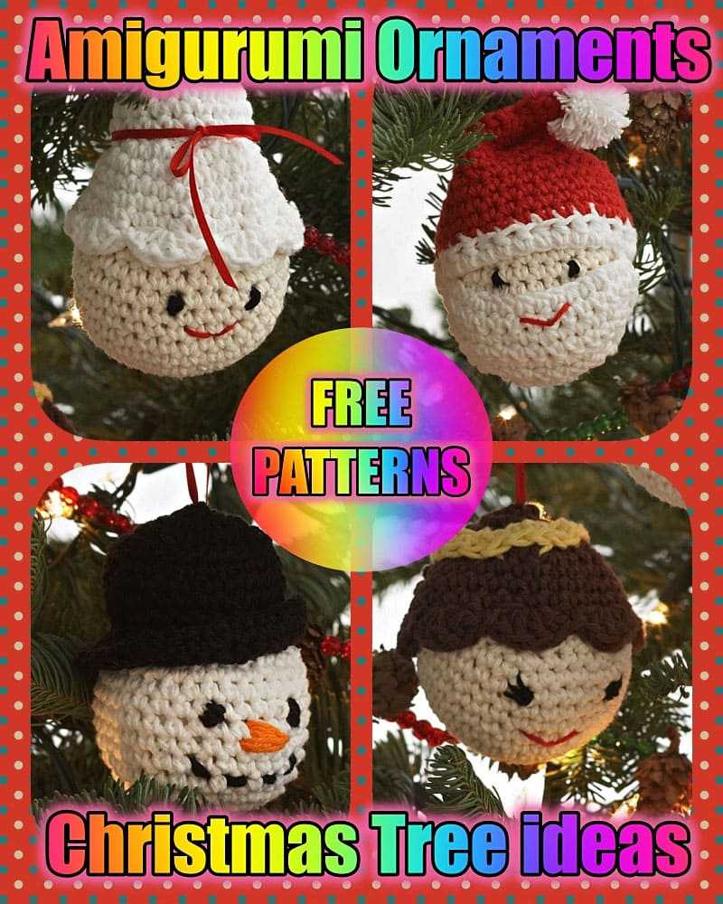 Crochet Christmas Tree Free Patterns for Holiday Decoration | 1000x800