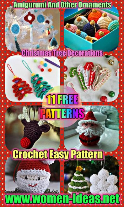 11-free-easy-crochet-pattern-instructions-and-christmas-tree-decorating-ideas