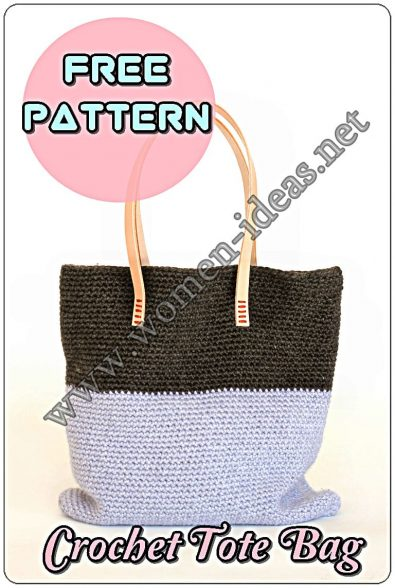 large-volume-crochet-tote-bag-with-blue-and-black-colors