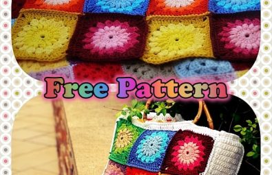 free-pattern-instruction-of-granny-square-crochet-bag-with-bamboo-handle