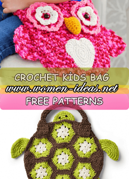 free-crochet-kids-bags-pattern-pink-owl-and-cute-turtle-skill-level-easy